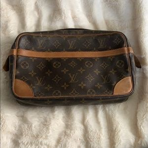 Authentic Louis Vuitton vintage clutch